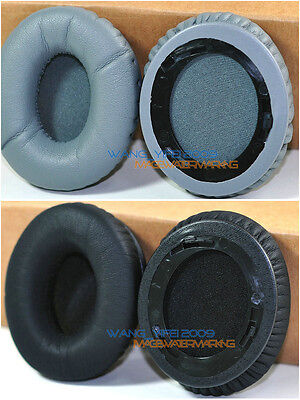 Replacement Ear Cushion Cups Pads Black Grey Color For SOLO HD Headphones