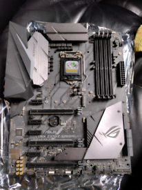 Asus z370f motherboard faulty spares repairs parts