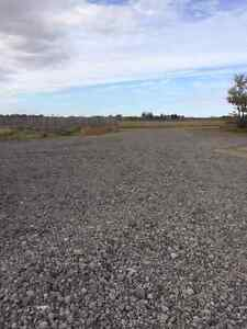 Gravel, Ballast, Washed Rock, Pit Run, Road Building Base