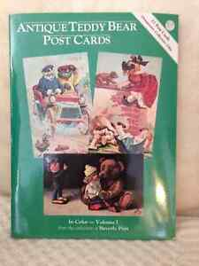 Antique Teddy Bear Postcards & Teddy Bear Paper Doll Gift Wrap London Ontario image 1