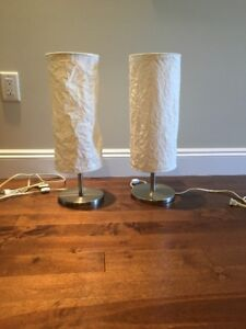 For Sale: 2 Small Ikea Lamps