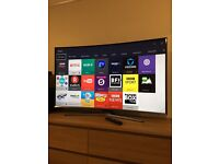"""Samsung 55"""" CURVED SMART LED TV Perfect condition"""