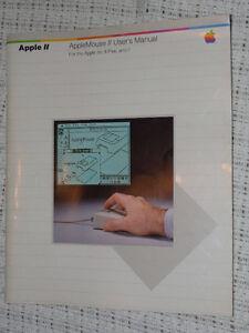 AppleMouse II User's Manual - SUPER Shape - $10.00