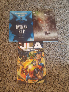 Comics $10/each, $15/two, $25/3, $30/4, and  $40/all