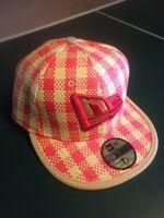 Brand new NewEra fitted straw hat