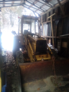 555B Ford Backhoe