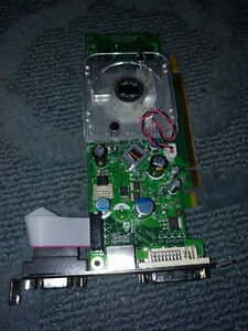 Nvidia GeForce 256 MB video card