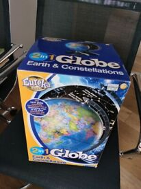 2 in 1 Earth & Constellations Globe