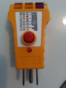 Outlet Receptacle GFCI tester