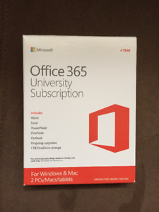 4 Year Microsoft Office Subscription