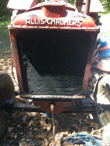 Antique Tractor 1938 Allis Chalmers - Working Condition