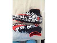 Nike Neymar sock boots uk 8