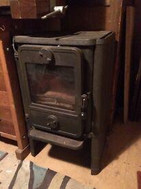 Morso wood burner squirrel type convector stove
