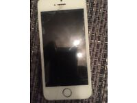iPhone 5s 16g space grey screen cracked but works