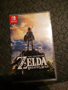 Sealed Unopened Breath of the wild. For the Nintendo Switch