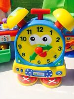 Educational toy clock