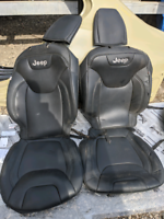 2015-2018 Jeep Cherokee Leather Seat Covers
