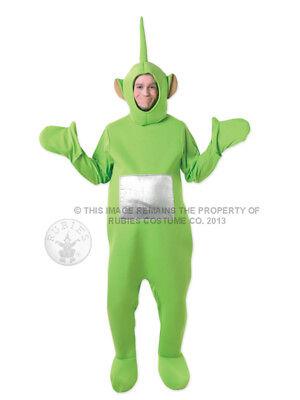 Adult Licensed Teletubbies Green Dipsy Fancy Dress Costume Cbeebies Teletubby