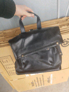 Top shop pleather back pack purse