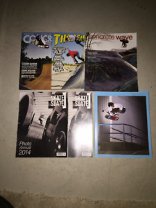 Skateboarding Magazines