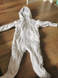 Waitrose snow suit