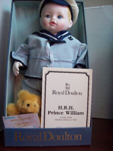 ROYAL DOULTON PRINCE WILLIAM DOLL