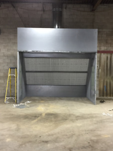 SPRAY BOOTH & AIR COMPRESSORS