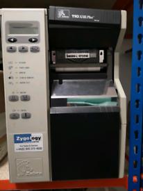 Zebra Tech 110Xilll plus Thermal Transfer label printer.
