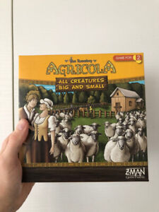 Agricola: All Creatures, Big and Small (2 player boardgame)