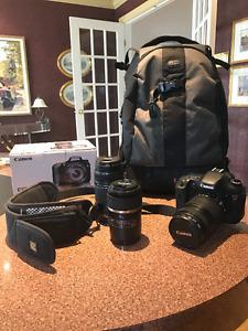 Canon EOS 7D avec kit complet