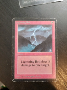 Magic the gathering alpha bolt