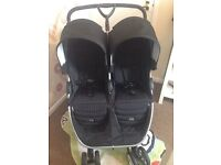 OPEN TO OFFERS Britax double pushchair