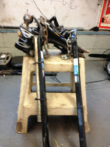 SWAY BAR  AND HITCH PRICE $200.
