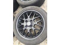 POLO 6n2 GTI alloy wheels black gloss bbs rims alloys