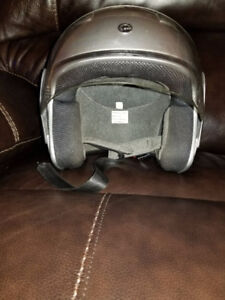 BRP silver helmet size Small