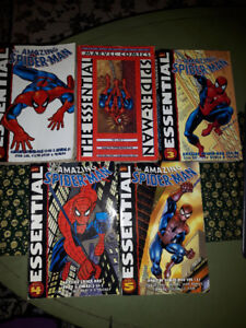 Essential the amazing Spider-man comics - NEW PRICE $20.00