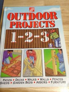 The Home Depot 1-2-3 books