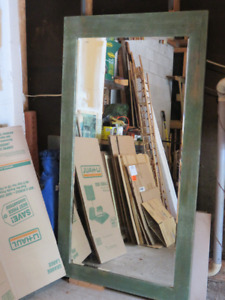 Reduced to Go: Floor Length Beveled Mirror