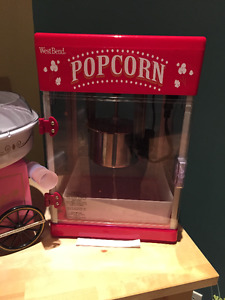 Popcorn maker and Cotton Candy Maker