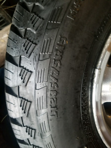 Tires and rims. NEED GONE ASAP.