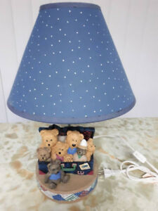 Lampe enfant oursons