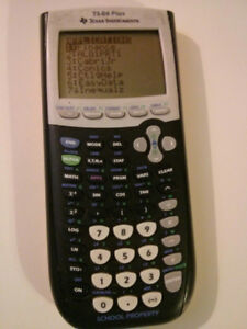 TI-84 Plus Texas Instruments Graphing Calculator
