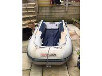 HonWave inflatable boat dinghy