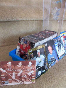 500 CARTES DE HOCKEY DE COLLECTION & COFFRET !!!