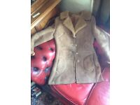 Vintage baileys of glastonbury 60s sheepskin coat