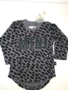 HUX Long Sleeve Mini Top New with Tags Size 1