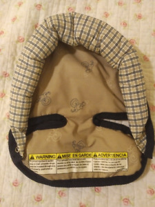 Neck and head support for baby car seat