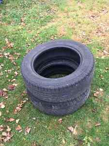2 Snow and Mud tires KUMHO 225/60R1799H M+S