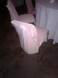 Seat / chair cover.  Couverture de chaisse.