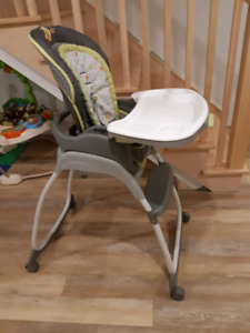 3 in 1 high chair.
